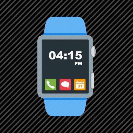 App, watch, wearable, digital, iwatch, screen, smart icon