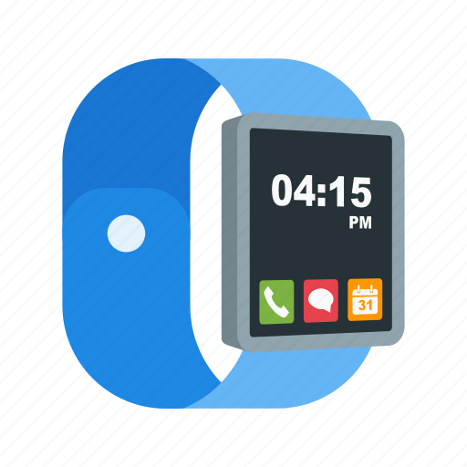 Right, screen, move, hand, technology, side, view icon