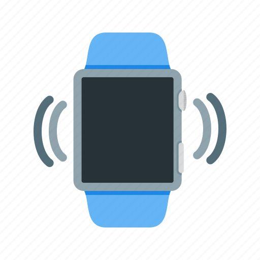 alert, call, display, mode, silent, vibrate, watch icon