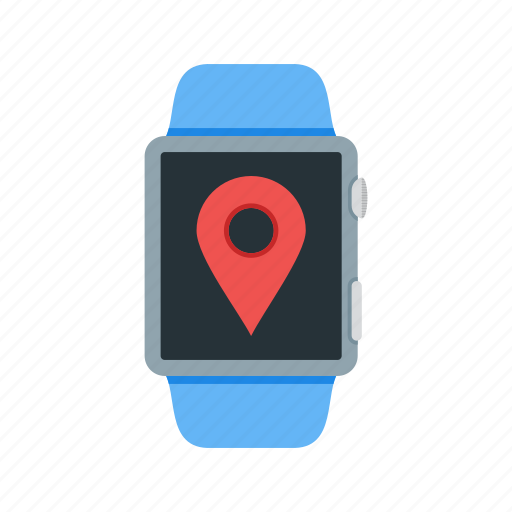 Settings, app, watch, mark, tag, location, gps icon
