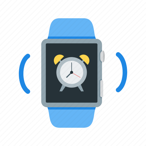 Clock, notification, alarm, watch, alert, ring, smart icon