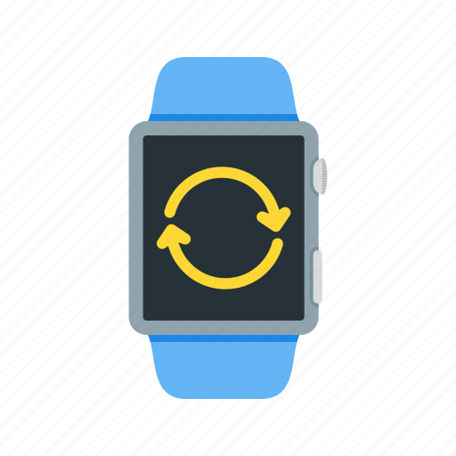arrow, clock, refresh, sign, time, update, watch icon