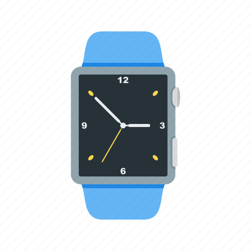 Clock, screen, watch, notify, minutes, app, smart icon - Download
