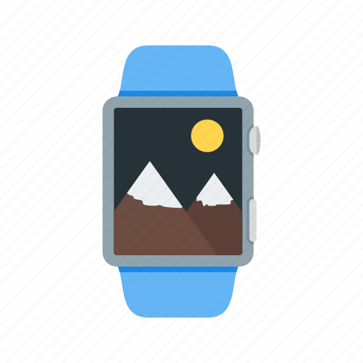 app, file, gallery, media, photos, smart, watch icon