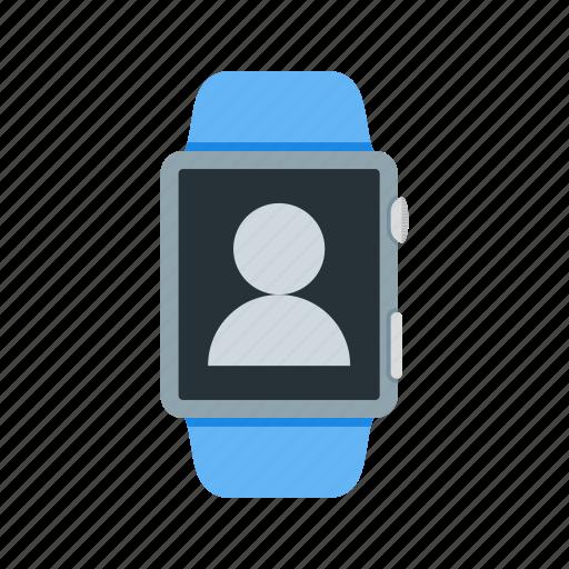 apps, digital, gadget, screen, smart, user, watch icon