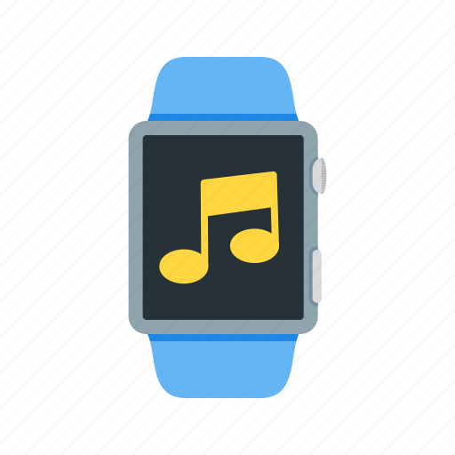 app, music, play, smart, sound, watch icon