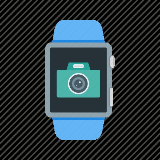app, camera, file, gallery, photos, smart, watch icon