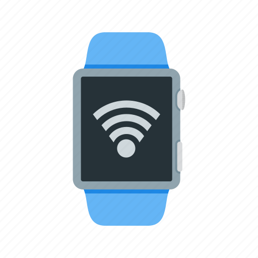 connection, internet, router, signal, watch, wifi, wireless icon