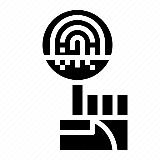 Fingerprint, identity, scan, security, technology icon - Download on Iconfinder