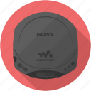 cd, player, sony, walkman icon