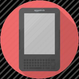 amazon, ebook, keyboard, kindle icon