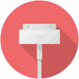 adapter, apple, pin icon