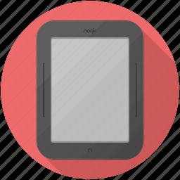 and, barnes, ebook, nobble, nook, reader icon