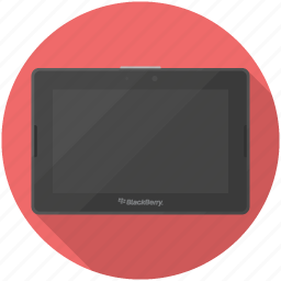 blackberry, playbook, tablet icon