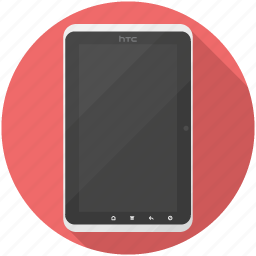 android, flyer, htc, tablet icon