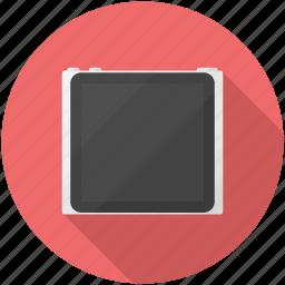 ipod, mp3, nano, player, touch icon