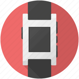 Pebble, smartwatch, watch icon