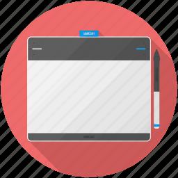 bamboo, draw, pen, touch, wacom icon