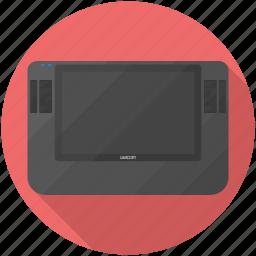 cintiq, draw, pen, tablet, wacom icon