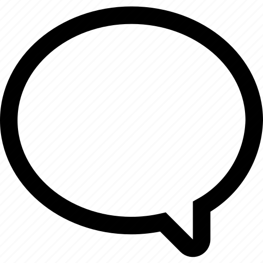 chat, comment, message, messenger, voice icon