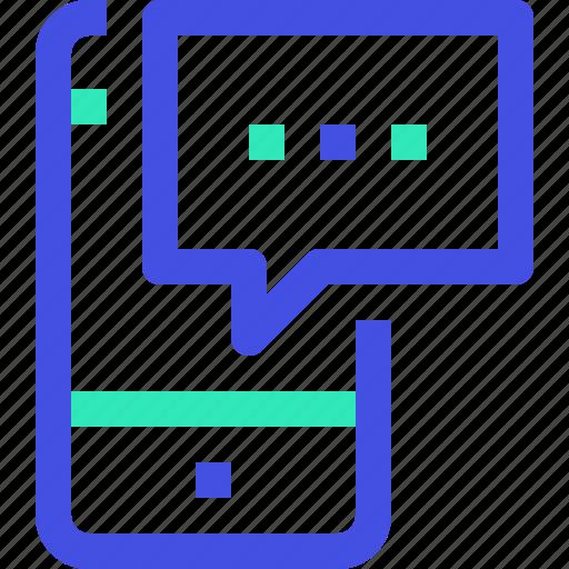 communication, smartphone icon
