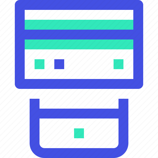 payment, smartphone icon