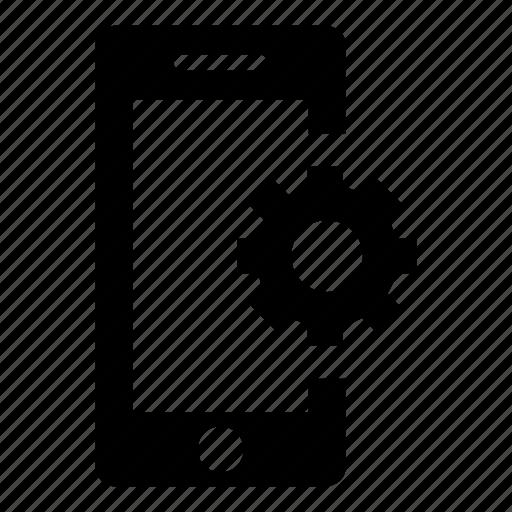 mobile, mobile phone, phone, phone settings, settings, smart phone, smartphone icon