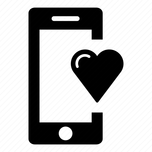 heart, mobile friendly, mobile phone, phone, responsive, smart phone, smartphone icon