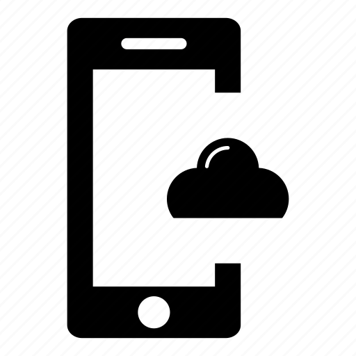 cloud computing, cloud storage, mcc, mobile, mobile cloud computing, mobile phone, smartphone icon