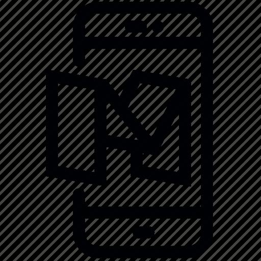 blog, communication, device, medium, mobile, phone, smartphone icon