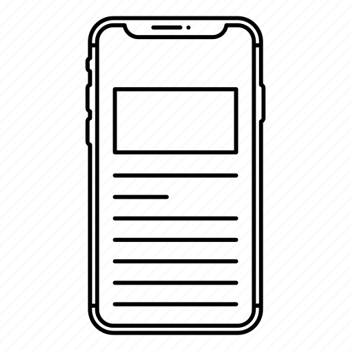 apple, application, function, iphone x, smartphone icon