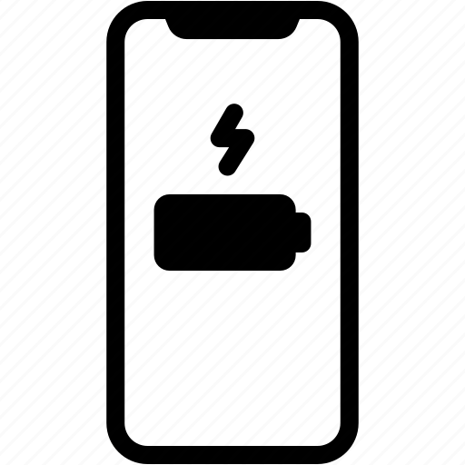 battery, charge, device, mobile, phone, smartphone icon