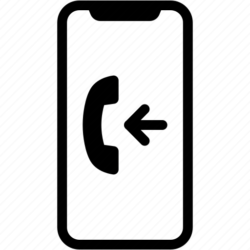 call, device, incoming, mobile, phone, smartphone icon