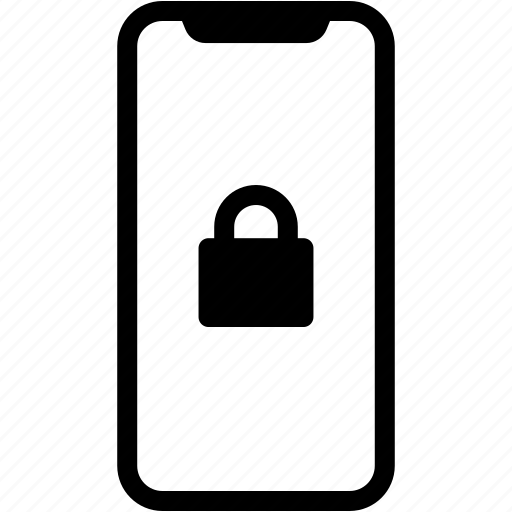 device, lock, mobile, phone, smartphone icon