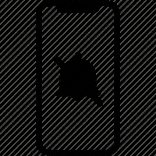 alert, device, mobile, notification, phone, smartphone icon