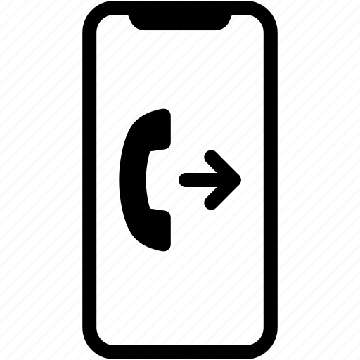 Call, device, mobile, outgoing, phone, smartphone icon - Download on Iconfinder