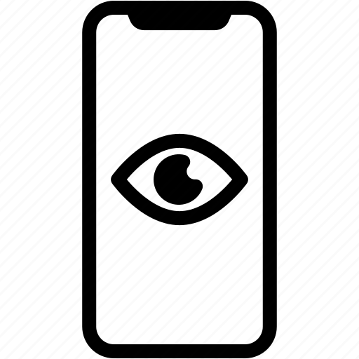 device, mobile, phone, smartphone, view icon