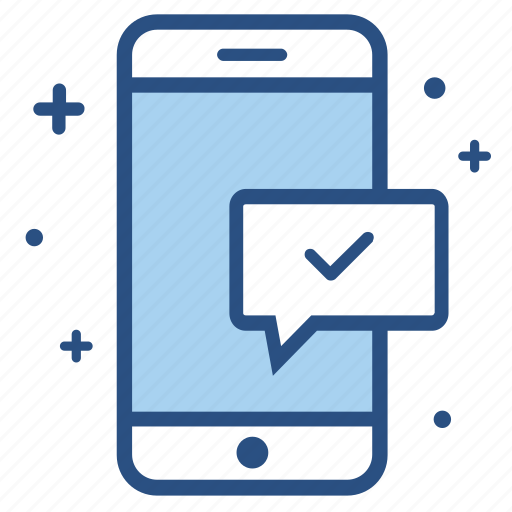 approve, approved, complete, message, send, sent, success icon