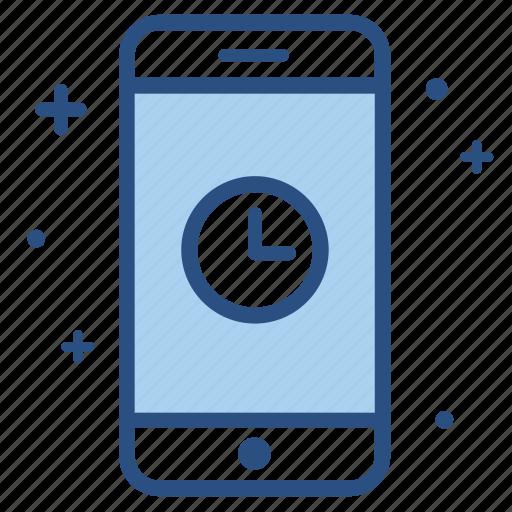 alarm, clock, mobile, schedule, smartphone, time icon