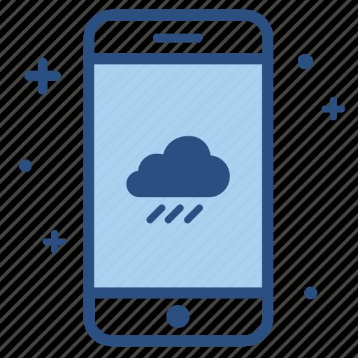 app, climate, mobile, smartphone, temperature, weather icon