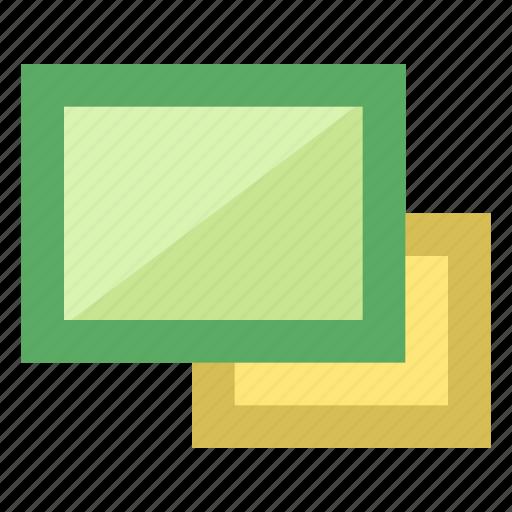 app, essentials, gallery, list, slider, smartphone, view icon