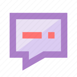 chat, comment, conversation, discussion, enabled, messages, talk icon