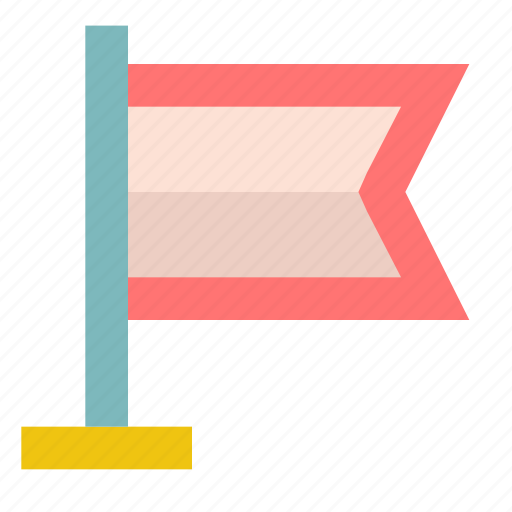 bookmark, country, flag, geo, landmark, mark, tag icon