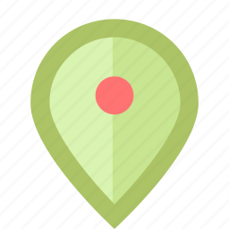 enabled, geo, geotag, landmark, mark, pin, tag icon