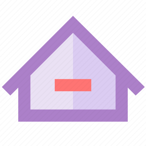 bookmark, building, home, house, screen, smartphone, start icon