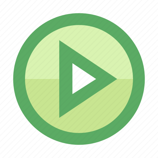 movie, play, smartphone, stream, track, triangle, video icon