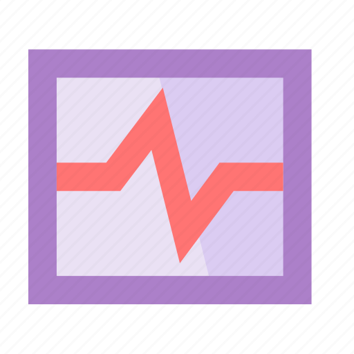 diagramm, essentials, flow, graph, monitor, safe, smartphone icon