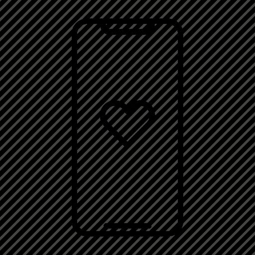 health, heart, iphone, love, phone, samsung, smartphone icon