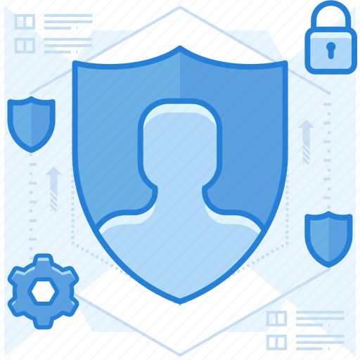 account, security, settings icon