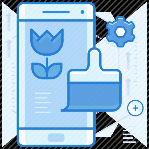 customization, design, smartphone icon